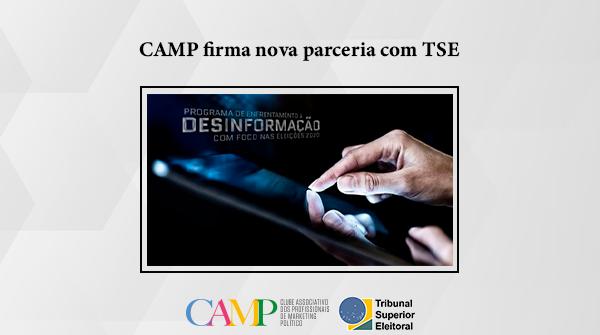 CAMP firma nova parceria com TSE